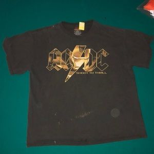 AC/DC vintage Ironman tee